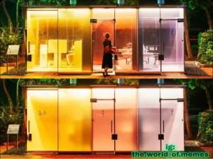 bagni smart trasparenti tokyo