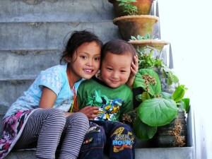 bambini bhutan