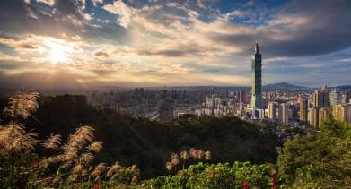 panorama di Taipei