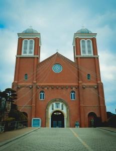fronta cattedrale Uramaki nagasaki 9 agosto Nagasaki dopo la bomba atomica