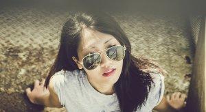 ragazza cinese glamour
