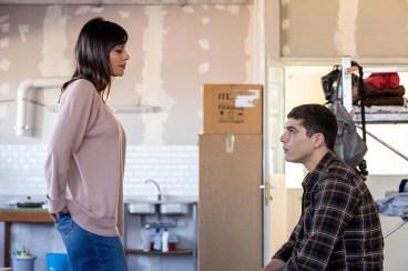 damiano e l'insegnante Monica in una scena di baby 3 traveltherapists netflix