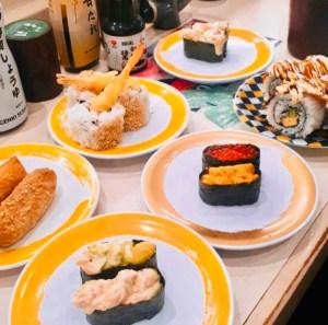 genki sushi shibuya kaiten sushi piatti traveltherapists