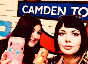 marzia e elina tube con pokemon lattine camden town traveltherapists