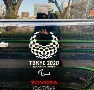 taxi a Tokyo sponsor tokyo 2020 giochi olimpici traveltherapists ph Marzia Parmigiani