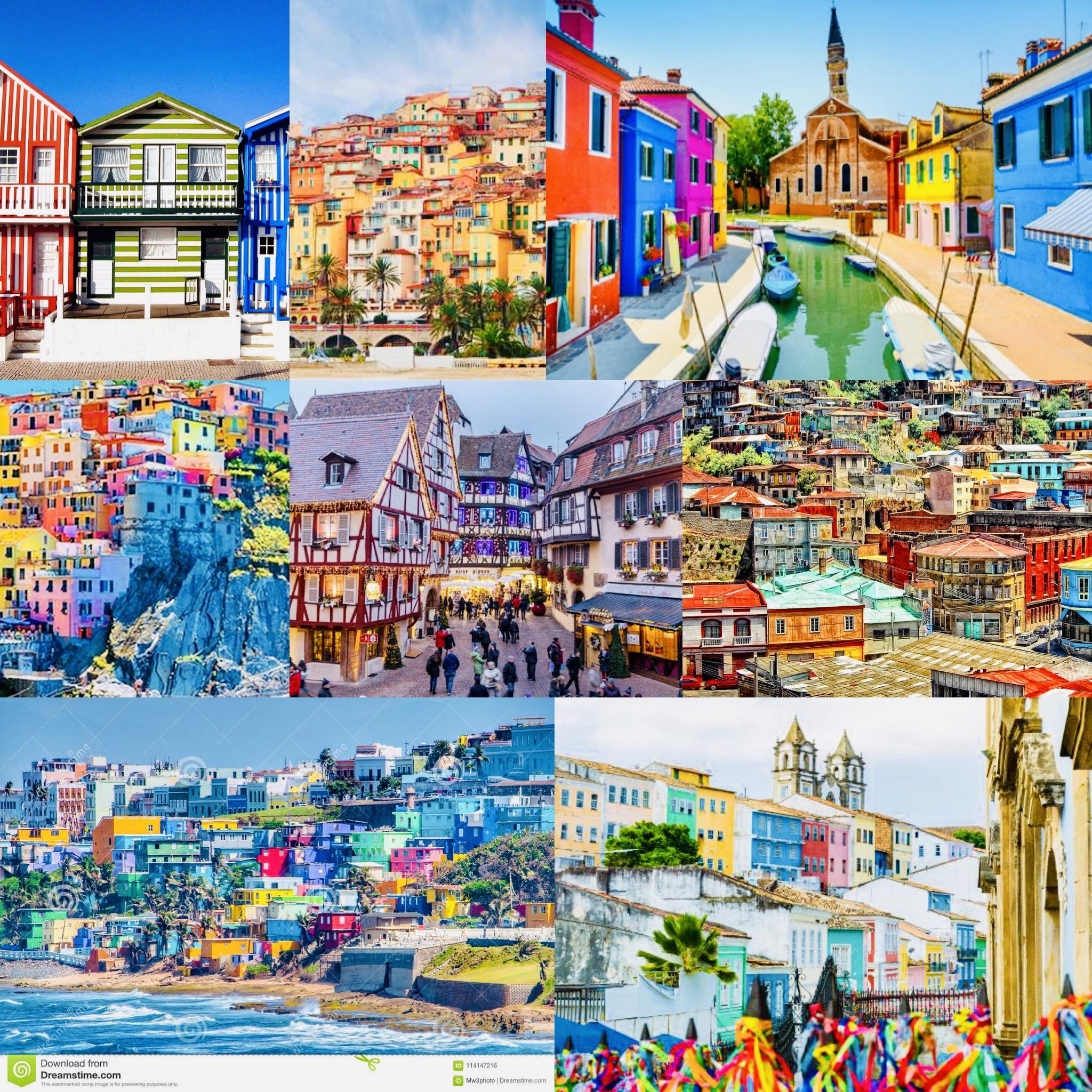 città colorate del mondo traveltherapists