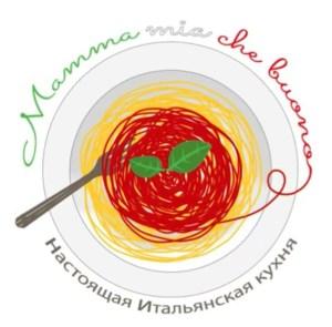cristina baldi marina Shalagaeva food blog italia russia cucina italiana traveltherapists logo mamma mia che buono spaghetti basilico bandiera italia