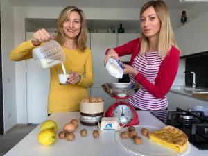 cristina baldi marina Shalagaeva mamma mia che buono food blog italia russia cucina italiana traveltherapists torta