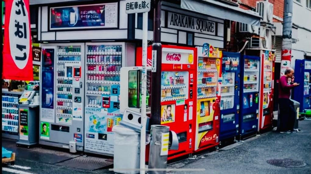 distributori automatici incredibili in Giappone traveltherapists il mio viaggio in giappone hamburger tokyo