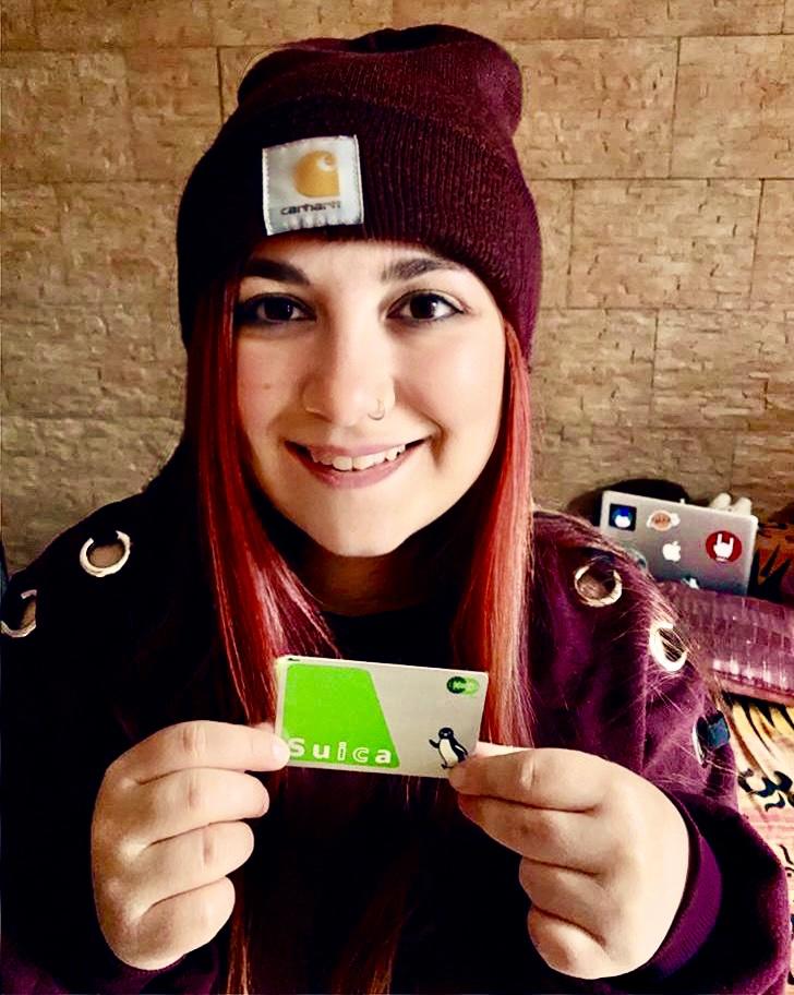 elina suica smartcard metro tokyo il mio viaggio in Giappone traveltherapists