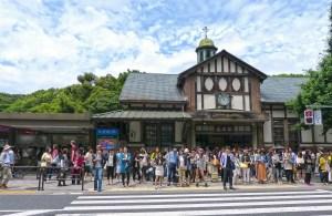harajuku il mio viaggio in giappone traveltherapists edificio stazione Guida kawaii di Harajuku