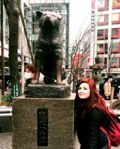 Hachiko Shibuya 8 marzo il mio viaggio in Giappone traveltherapists elina