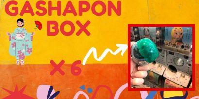 copertina Gashapon BOX il mio viaggio in giappone traveltherapists blog giappone miglior blog di viaggio