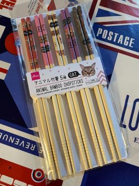 bacchette giapponesi con gatti daiso Snack e oggetti imperdibili dal Giappone