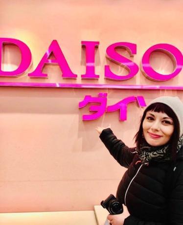 Marzia da Daiso Harajuku il mio viaggio in giappone traveltherapists miglior blog di viaggio