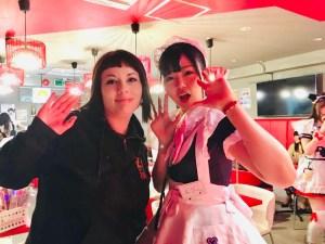 marzia-maid-cafe-tokyo diseguaglianza di genere in Giappone traveltherapists il mio viaggio in giappone