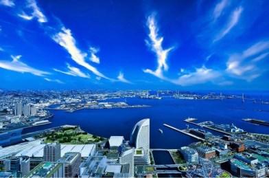 Yokohama panorama il mio viaggio in giappone traveltherapists blog giappone Top esperienze da fare a Yokohama miglior blog di viaggio