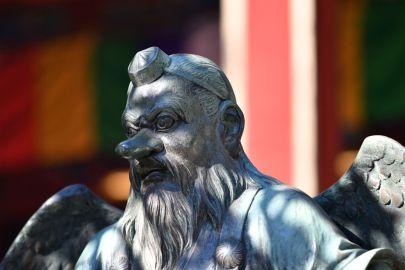 rappresentazione di Gesù in Giappone con naso importante il mio viaggio in giappone traveltherapists blog giappone miglior blog di viaggio