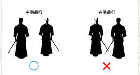 immagine spade spade samurai sulla sinistra Storia dell'inchino e altre usanze giapponesi traveltherapists il mio viaggio in giappone blog giappone miglior blog di viaggio