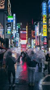 strada tokyo pioggia in giappone In Giappone esistono 50 parole per dire pioggia il mio viaggio in giappone traveltherapists blog giappone miglior blog di viaggio