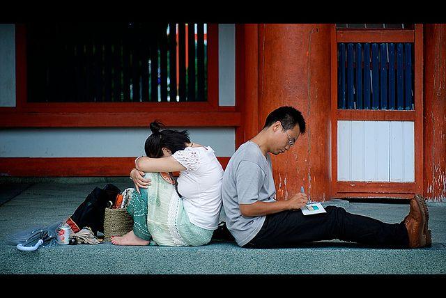 coppia opposti coppia giapponese traveltherapists il mio viaggio in giappone blog giappone miglior blog di viaggio