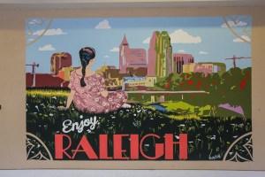 Enjoy Raleigh Murals