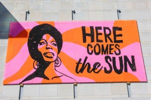 Here Comes the Sun Raleigh Mural