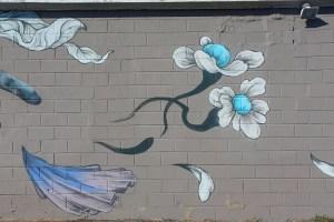 Raleigh Murals Flowers