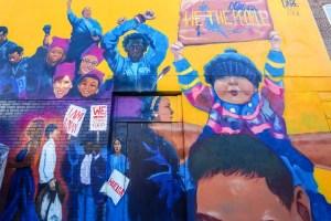 Raleigh-Murals-Civil Rights Kid