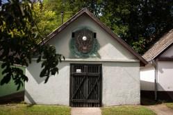 Traditional Hungarian wine cellar
