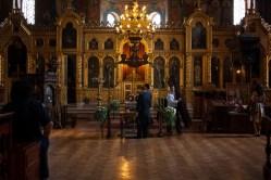 Interior of the Sveti Sedmochislenitsi Church