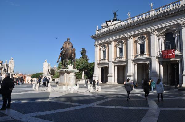 Capitoline Museum Rome-Italy