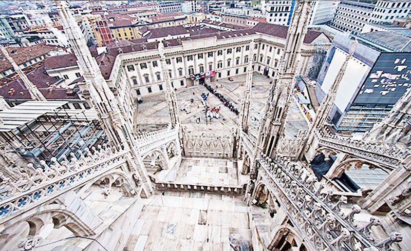 Milan Duomo Rooftop Terrace  Travel Through Italy