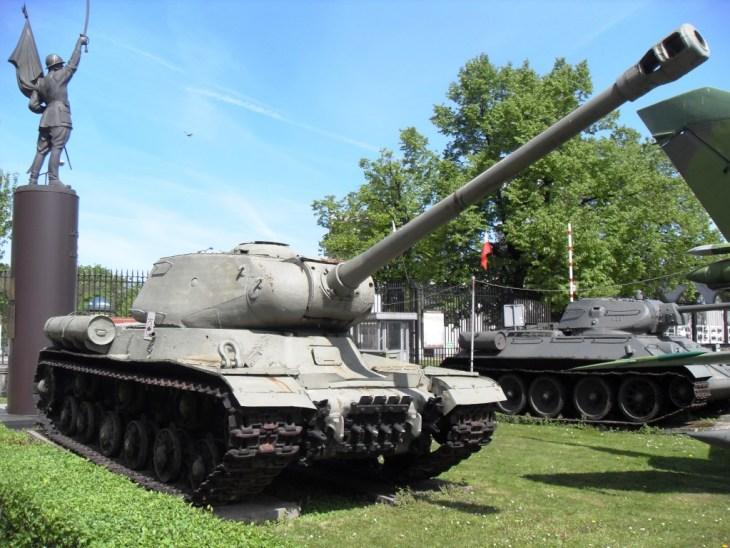 Stalin-2 soviet tank, Polish Army open-air Museum