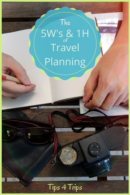Planning a holiday? Ask yourself these six questions to help you plan your travel vacation.