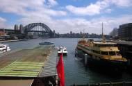 Harbour Bridge from Circular Quay - Sydney, NSW, Australia