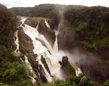 BARRON FALLS - The rainy season is the best time to go, especially after very heavy falls.