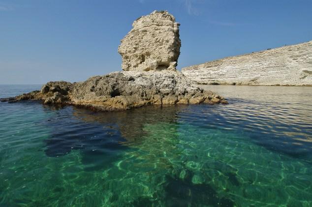Crimea diving