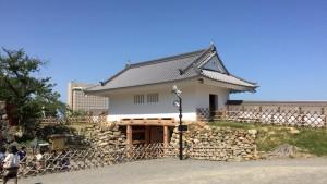 浜松城の天守門