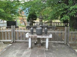 願成寺の武田信義の墓