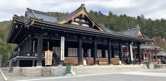 身延山・久遠寺
