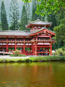 byodo in temple hawaii hawai honolulu usa blog voyage travel roadtrip travel to the moon and back traveltothemoonandback