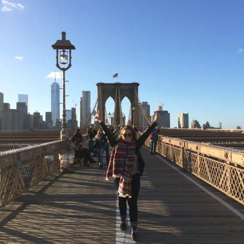 Brooklyn bridge usa bilan au pair citytrip travel blog voyage traveltothemoonandback travel to the moon and back