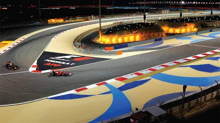 bahrain geting in the