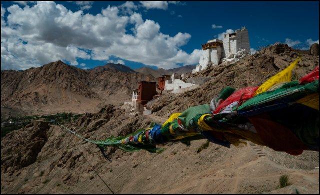 Namgyal Tsemo Monastery, Leh, J&K, India