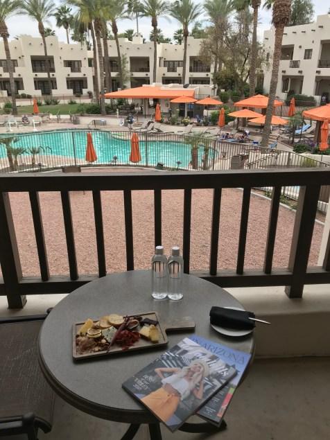 Balcony overlooking Oasis Pool