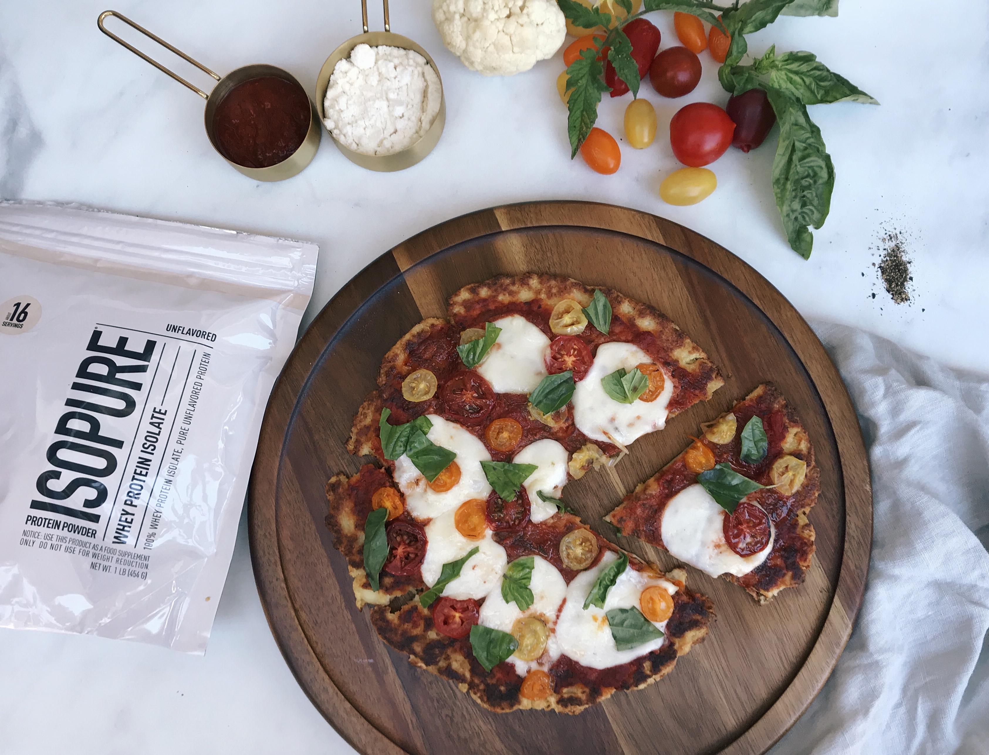 High Protein Cauliflower Pizza Travel Trend