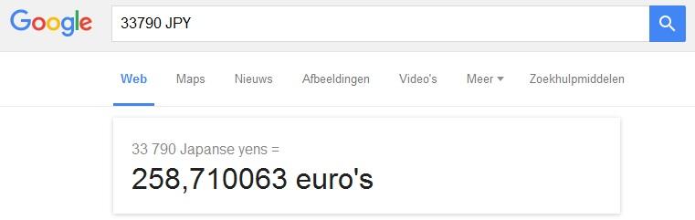 #55 Brusssel tokyo euro
