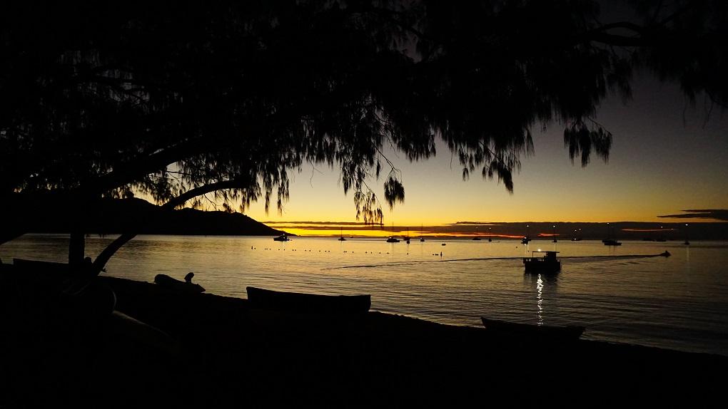 Zonsondergang op Horseshoe Bay