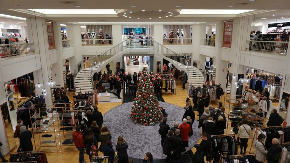 Shoppen met Kerst in Hamburg